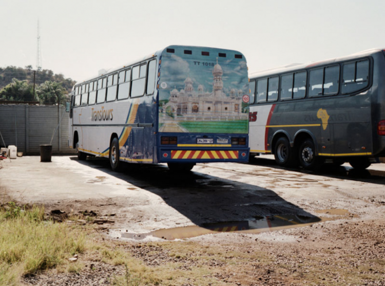 Lost City, Laudium Bus Depot © Lathigra/Sekgala 2014